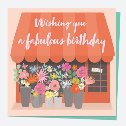General Birthday Card - Beautiful Blooms - Shop - Fabulous Birthday