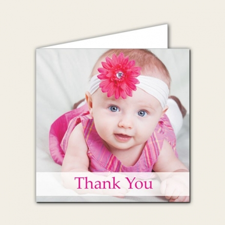 Thank You - Use Own Photo Girls - Pack of 10
