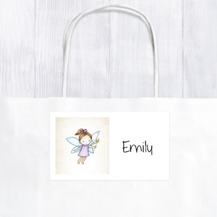 Girls Fairy - Party Bag & Sticker - Pack of 10