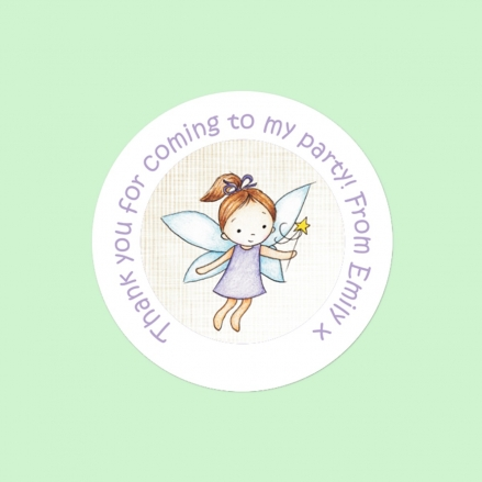 Girls Fairy - Sweet Cone Stickers - Pack of 35