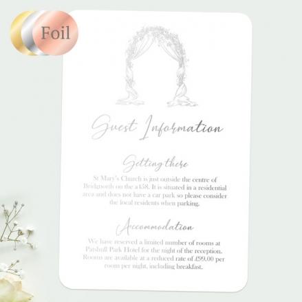 Floral-Wedding-Arch-Foil-Guest-Information