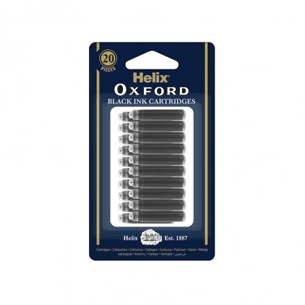 Helix-Oxford-Ink-Cartridges-Pack-of-20-Black