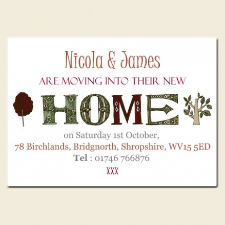Address Cards - Home - Pack of 10