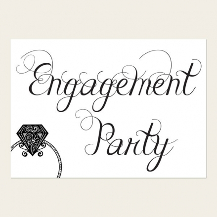 Engagement Invitations - We're Engaged