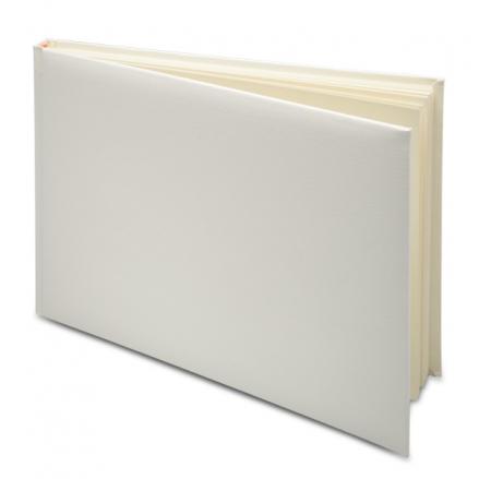 Plain-DIY-Ivory-Wedding-Guest-Book
