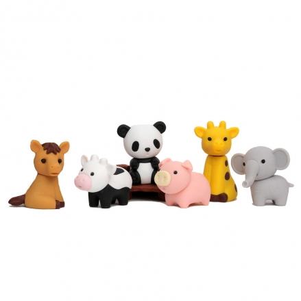 Iwako-Puzzle-Eraser-Set-Zoo