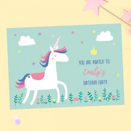 Kids-Birthday-Invitations-Unicorn-Magic