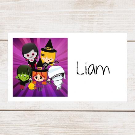 Kids Halloween - Halloween Party Sticker - Pack of 10