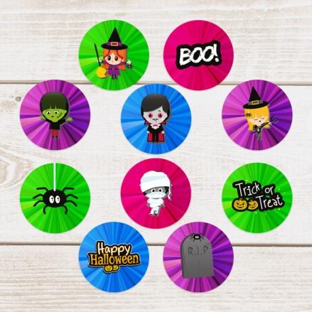 Kids Halloween - Halloween Stickers - Pack of 70