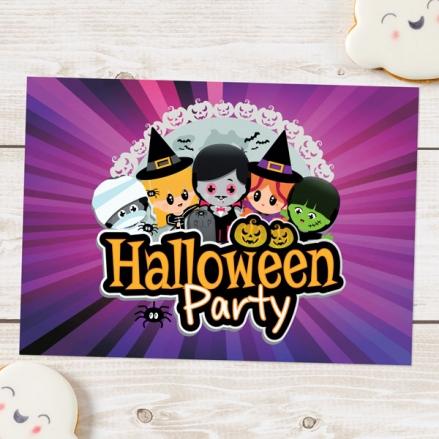 Halloween Party Invitations - Kids Halloween