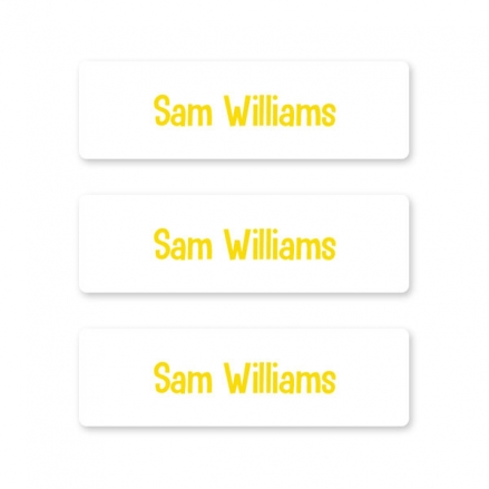 kids-pens-stationery-small-personalised-name-labels-yellow-text