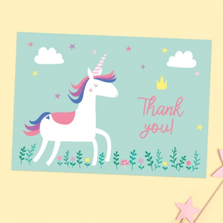 Ready-to-Write-Kids-Thank-You-Cards-Unicorn-Magic