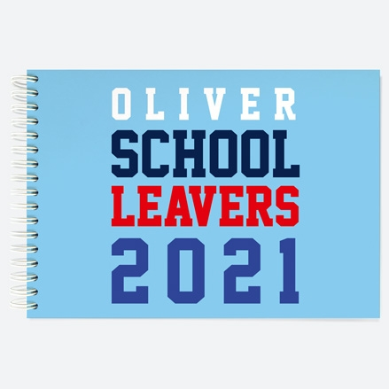 Sports-Jersey-Personalised-A5-Wiro-Bound-School-Leavers-Book