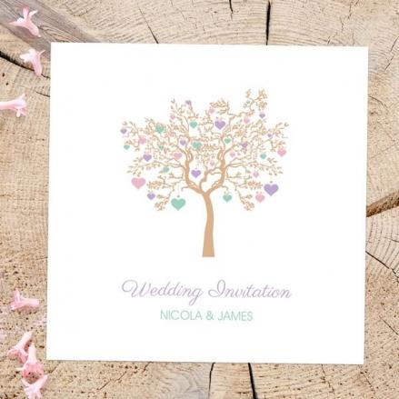 Love Tree - Wedding Invitations