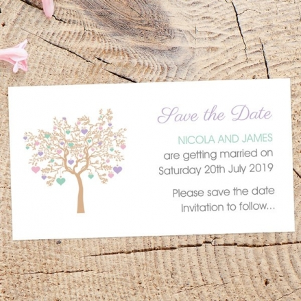 Love Tree - Save the Date Magnets