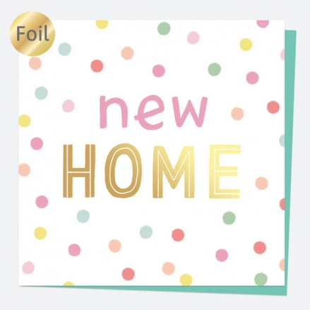 Luxury Foil New Home Card - Sweet Spot Typography - New Home