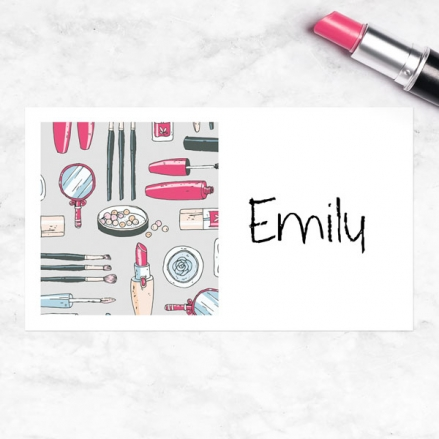 Make Up Pamper Party - Party Sticker - Pack of 10