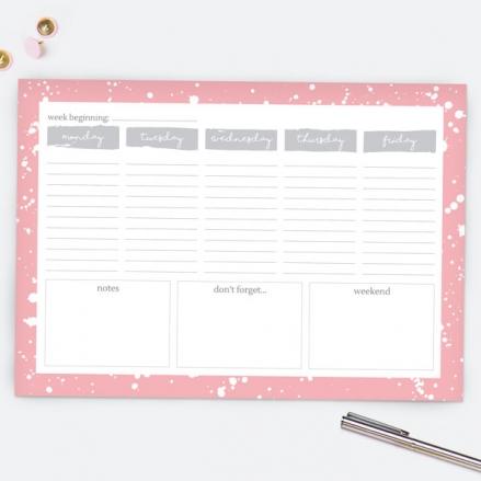 Make Your Mark - Desk Planner