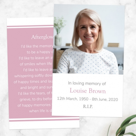 funeral-memorial-cards-Female-Modern-Photo-Collage