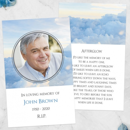 Funeral-Memorial-Cards-Above-the-Clouds