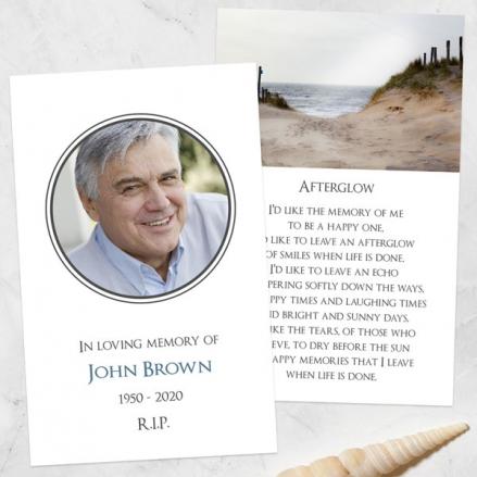 funeral-memorial-cards-Beach-Path-Photo