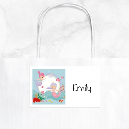 Mermaid Party - Party Bag & Sticker - Pack of 10