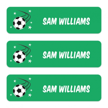 Medium-Personalised-Stick-On-Waterproof-(Equipment)-Name-Labels-Football-Crazy-Pack-of-42