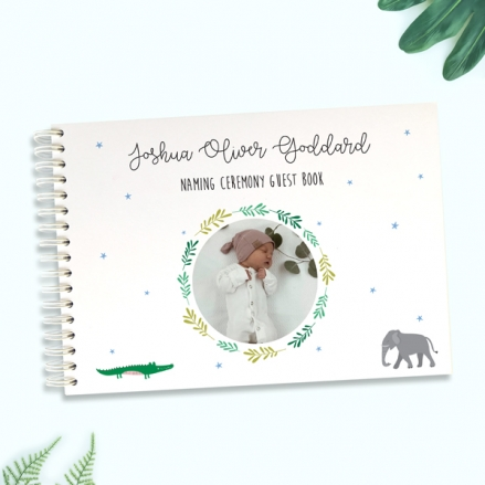 Boys-Go-Wild-Naming-Ceremony-Guest-Book-Use-Your-Own-Photo