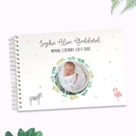 girls-go-wild-naming-ceremony-guest-book-photo