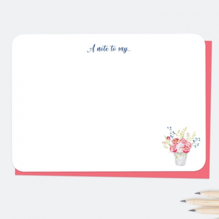Potted-Flowers-A-Note-To-Say-Note-Cards