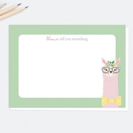 Llama-Tell-You-Something-Note-Cards