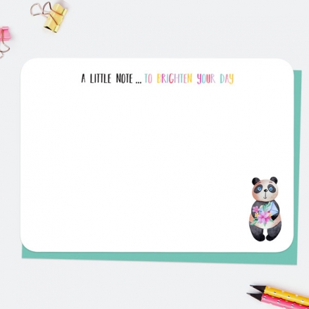 Little-Panda-Brighten-Your-Day-Note-Cards
