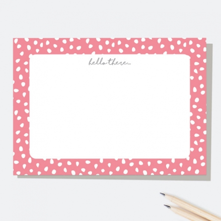 Pinking-Out-Loud-Hello-There-Note-Cards