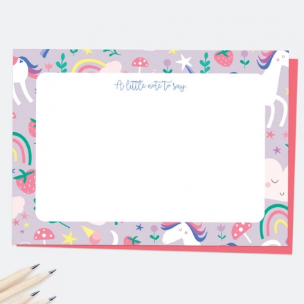 Unicorn-Magic-A-Little-Note-To-Say-Note-Cards