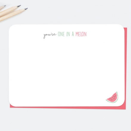 Fresh-Ideas-One-In-A-Melon-Note-Cards