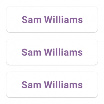 office-work-personalised-name-labels-purple-text