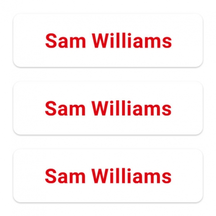 office-work-personalised-name-labels-red-text
