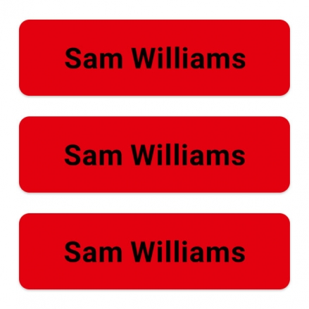 office-work-personalised-name-labels-red