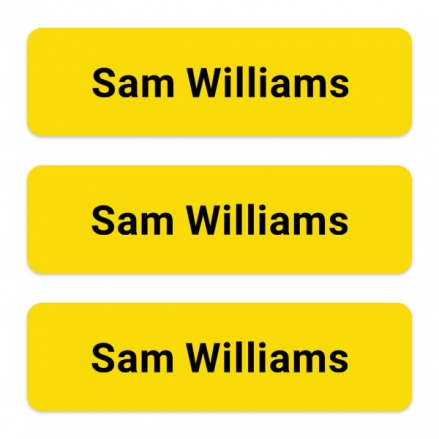 office-work-personalised-name-labels-yellow
