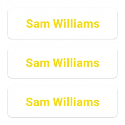 office-work-personalised-name-labels-yellow-text