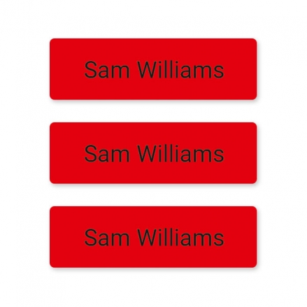 office-work-small-personalised-name-labels-red