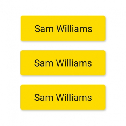 office-work-small-personalised-name-labels-yellow
