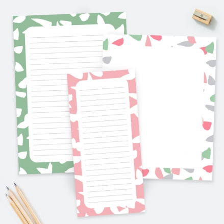 Paint The Town - Notepads - Pack of 3