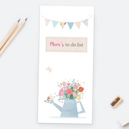 Mum's Pastel Gardening - Magnetic List Pad
