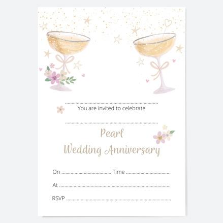 30th-wedding-anniversary-invitations-champagne-bubbles-thumbnail