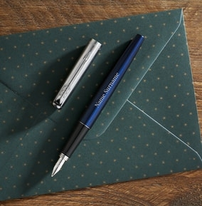 personalised-parker-fountain-pen-blue