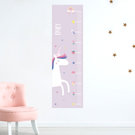 Unicorn-Magic-Personalised-Height-Chart
