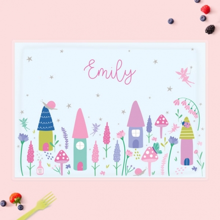 Personalised-Kids-Placemat-Fairy-Garden