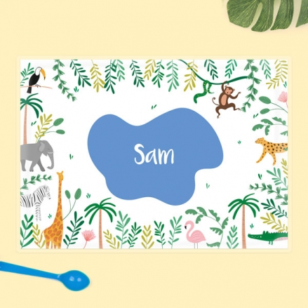 Personalised-Kids-Placemat-Go-Wild