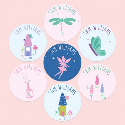 Fairy-Garden-Personalised-Kids-Stickers-Pack-of-35